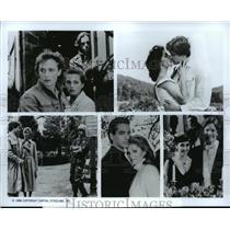 1986 Press Photo John Johnston, Noelle Beck and Dan Brady in Loving, on ABC.