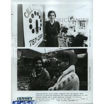 1981 Press Photo Laura Nader in Little Injustices: Laura Nader Looks at the Law.
