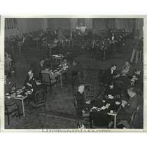 1932 Press Photo New York Vander-Bilt Cup Tournament Ritz-Carlton NYC