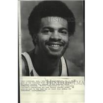 1975 Press Photo Portland Trail Blazers basketball player, Lionel Hollins