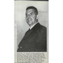 1965 Press Photo Otto Graham, named new Washington Redskins football coach