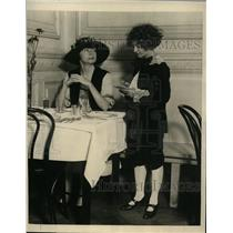 1923 Press Photo New York Peggy O'Reilly as Bo Peep at Stage Door Inn NYC