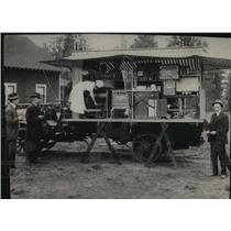 1915 Press Photo Historic Washington Water Project Demonstration Truck