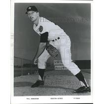1965 Press Photo Phil Henderson, Pitcher, Houston Astros - sbs06192