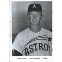 1966 Press Photo Larry Dierker, Pitcher, Houston Astros - sbs06200