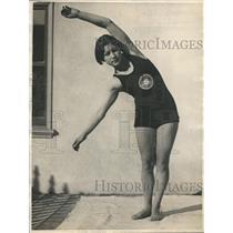 1925 Press Photo Eleanor Garatti, swimmer from San Rafael, California