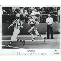 1981 Press Photo Seattle Seahawks football wide receiver, Steve Largent
