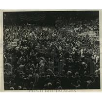 1924 Press Photo New York Scene at Democratic National Convention NYC