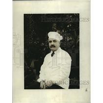 1921 Press Photo NEW YORK MR LOUIS ZELLER CHEF HOTEL PENNSYLVANIA NYC