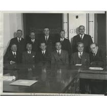1933 Press Photo NRA Seeks to End Stockyards Strike - ney27152
