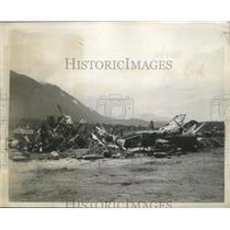 1944 Press Photo War Bird Bone Yard - ney27196