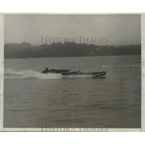 1930 Press Photo Red Bank New Jersey Speedboat Race - ney27342