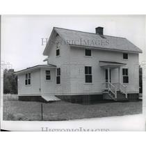 1890 Press Photo Farmhouse at Stonefield Museum in Cassville, Wisconsin