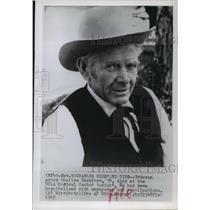 1967 Press Photo Actor Charles Bickford Dies - mja63836