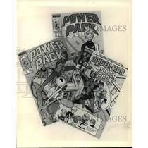 1987 Press Photo Marvel Comic's Power Pack - mja71252