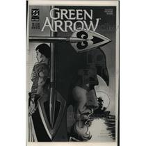 1988 Press Photo Cartoon The Green Arrow deals with homosexuals and Aids