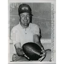 1963 Press Photo Jack Christiansen, Assistant Coach San Francisco 49ers