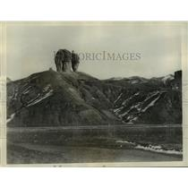 1933 Press Photo The Mountain of Two Heads, Shuantaoshan - mja76343