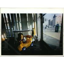 1993 Press Photo Marquese Harrell at Willow Tree Child Development Center