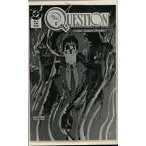 """1988 Press Photo DC comic """"The Question"""" Issue Number 4 - mja77109"""