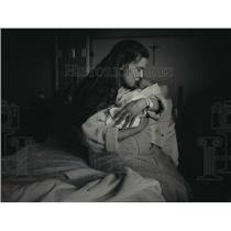 1993 Press Photo Melinda Stonecipher & New Born Sheila in St. Joseph's Hospital