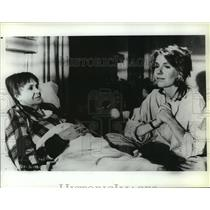 """1986 Press Photo Jill Clayburgh, Geraldine Page, """"I'm Dancing as Fast as I Can"""""""