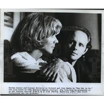 "1979 Press Photo Blythe Danner and Michael Moriarty in film ""Too Far to Go"""