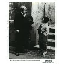 """1994 Press Photo Paolo Villaggio and Mario Bianco in """"Ciao, Professore"""""""