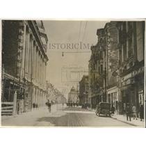 1928 Press Photo Reconstruction of the Rue de Vesles in 1928 - nef66561