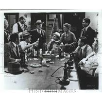 "Press Photo ""The Front Page"" Stars Jack Lemmon Walter Matthau & Carol Burnett"