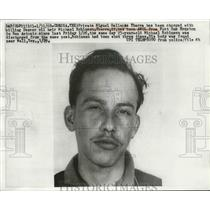 1968 Press Photo Pvt.Miguel Gallegos Ybarra charged with killing Denver Oil Heir