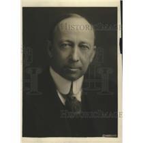 1918 Press Photo William Atherton Du Puy, Author and Magazine Writer of Wash