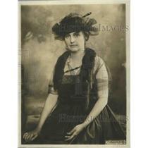 1901 Press Photo Mrs.WM.Atherton DuPuy Natl.Pres. of League of America Pan Women
