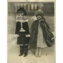 1926 Press Photo Dressed Dolls the work of employees of the Hotel Roosevelt