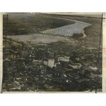 1936 Press Photo View of Louisville, Kentucky  - ney27452