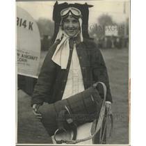 1929 Press Photo Billie Brown, El Monte, California - ney27381