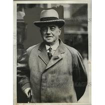 1931 Press Photo Arthur Henderson, British Labor Leader in London, England