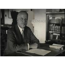 1931 Press Photo Walter Gifford of American Telephone Company Starts Relief Plan