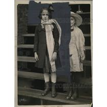 1921 Press Photo Kalliope Koyka & Jarzoubeck arrives from Poland to Chicago