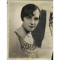 "1931 Press Photo Helene Handin, The ""Two Troupers"" - neo10409"