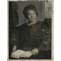 1925 Press Photo Mrs. Thomas J. Nolan serves as District Leader - neo10415