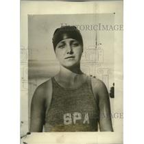 1923 Press Photo Mary Buhner Awarded American Red Cross Bravest Medal