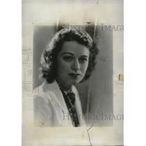 """1934 Press Photo Marion La Follette Seeks Role in """"The Great Ziegfeld"""" Movie"""