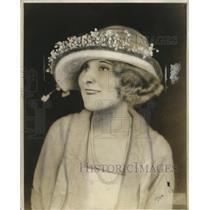 1921 Press Photo Joseph Women's Hat - neo11893