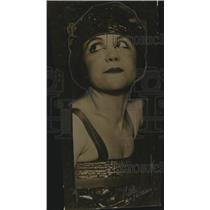 1919 Press Photo Valerie Walker Marshall, Dancer - neo11961
