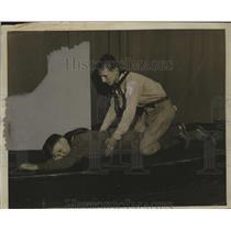 1932 Press Photo Boy Scouts - neo12252