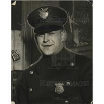 1923 Press Photo Policeman William F Miller of Cleveland Ohio - neo12488