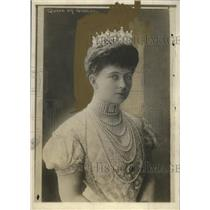 1918 Press Photo Ex Queen Sophie of Greece, Wife of King Constantine - neo12661