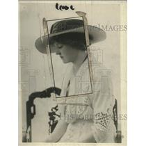 1918 Press Photo Countess Percy Working in London Base Hospital - neo14103