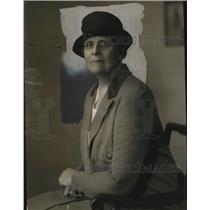1933 Press Photo Mrs Frederick Edey Girl Scouts National President - neo14124